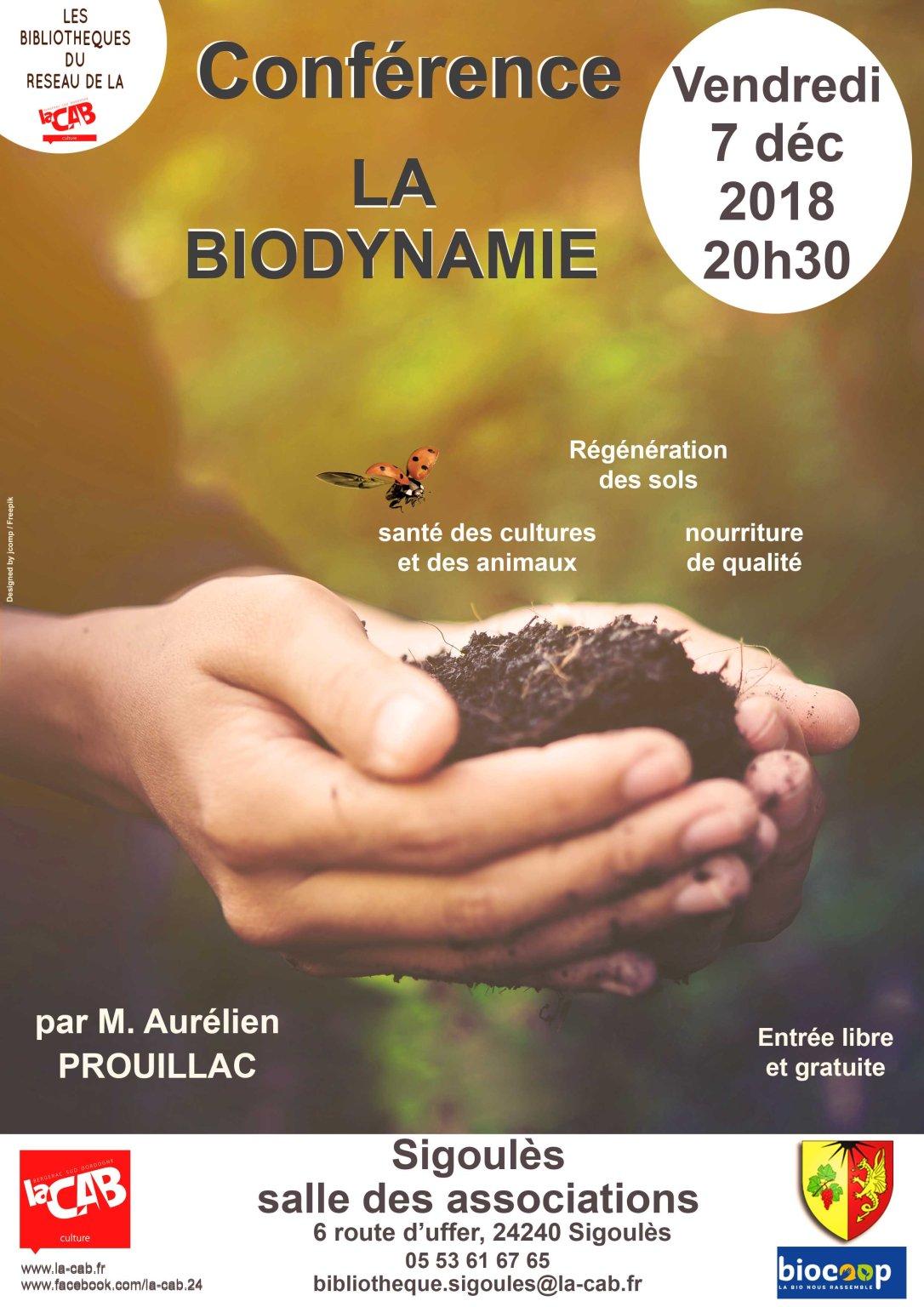 Affiche biodynamie Sigoules